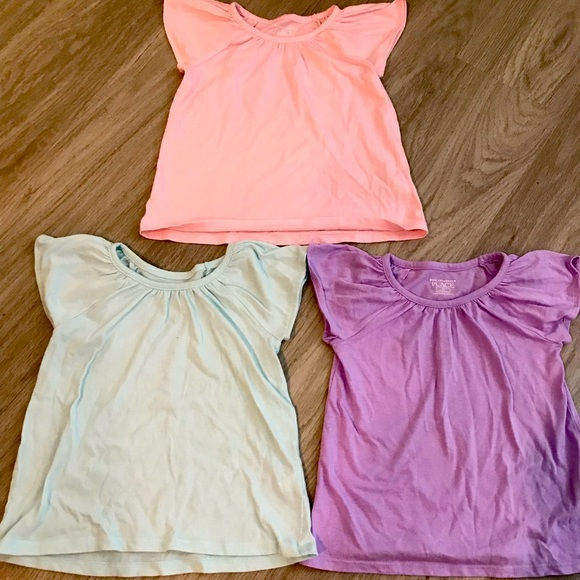 Children's Place girl's shirts lot, 4T